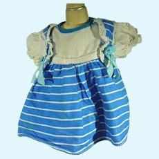 Charming 1950's Cotton Doll Dress