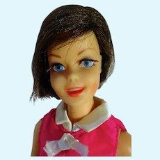 Vintage 1968 Brunette Casey Doll in Culotte-Wot, Mattel