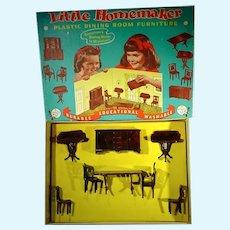 MIB Little Homemaker Dining Room Furniture Set, 1947!