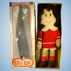 Gund Little LuLu Cloth Doll with Box, 1972