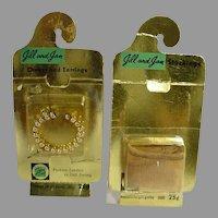 1958 Vogue Jill/Jan Accessory Packs Sealed in Original Packaging!