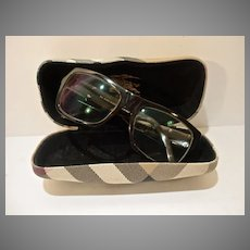 Vintage Burberry Glasses and Case