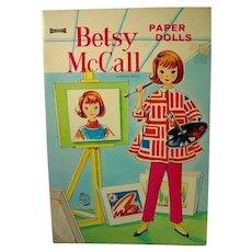 Vintage Betsy McCall Paper Dolls, Un-cut, 1958