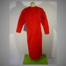 Rare Original Ottoliini Fashion Doll Sonia Sheath Dress, 1960
