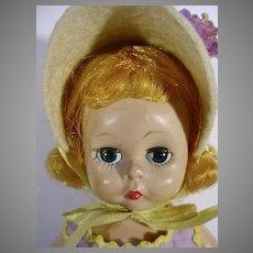 Vintage Madame Alexander Wendy Looks As Sweet As A Lollipop, 1957
