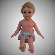 Hard to Find Madame Alexander Wendy-Kins Baby from 1954.