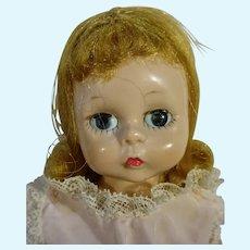 Vintage Madame Alexander 8 Inch Wendy in Pink Playsuit, 1956