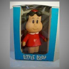 Rare Vintage Little LuLu Rubber Doll, MIB!
