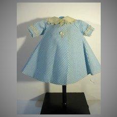 Madame Alexander-kin Blue & White Robe, 1960