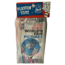 1964-1965 New York World's Fair Souvenir, Flash Cards...Never Opened