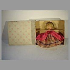 MIB 1940's Nancy Ann Storybook Doll, Colonial Dame #56