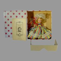 MIB Nancy Ann Storybook Doll, #22,, Alice Sweet Alice, 1940's, Bisque