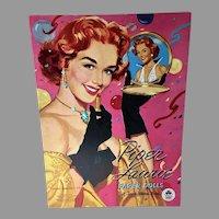 Vintage 1953 Un-Cut Piper Laurie Paper Dolls, Merrill
