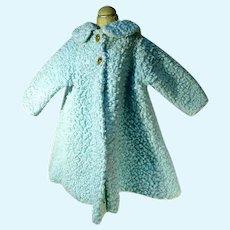 "Vintage Madame Alexander Tagged Spring Coat for 18"" Doll, 1950's"