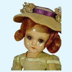 "Charming Composition Madame Alexander 11 1/2"" Wendy Ann, 1939"
