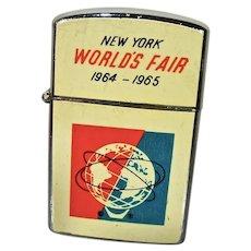 1964-1965 New York World's Fair Commemorative Lighter, Never Used