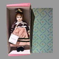 """MIB Madame Alexander 10"""" Little Shaver Cloth Doll, 1999 Reproduction"""