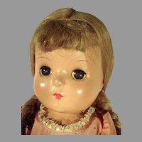 1930's Madame Alexander McGuffy Ana Compo Doll, All Orig.