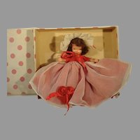 Vintage Nancy Ann Storybook Queen of Hearts Doll, MIB, 1940's