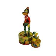 MARX, Walt Disney's, Donald Duck Duet Tin Wind-Up