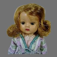 Charming Nancy Ann Muffie 8 Inch Doll, 1950's