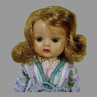 Charming Nancy Ann Muffie 8 Inch Walker Doll, 1950's
