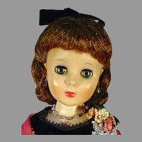 Vintage 20 Inch American Character Toni Doll in Formal, 1958