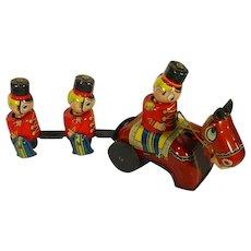 M. Mikumi, Tin Wind-up Toy, Guardsman on Parade