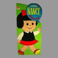 Vintage 1971 Un-Cut Nancy Paper Dolls (Comic Strip Character)