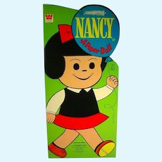 Vintage 1971 Un-Cut Nancy Paper Dolls (Comic Strip Character)