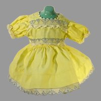 Charming Vintage 1950's Doll Party Dress