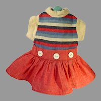 Adorable 1960's Doll Dress