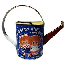 J Chein for the Bobbs-Merrill Company, The Raggedy Ann and Andy Tin Watering Can
