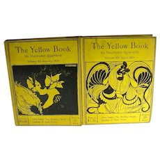 Original Volumes XII and XIII of The Yellow Book, published 1897