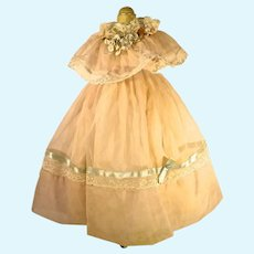 Lovely Vintage Doll Gown, 1950's