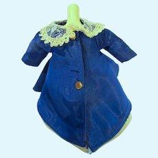 Vintage Sandra Sue Taffeta Swing Coat, Richwood Toys, 1956