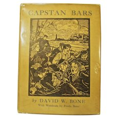 Signed 1ST. Ed. Capstan Bars David W. Bone, Woodcuts by Freda Bone, 1931