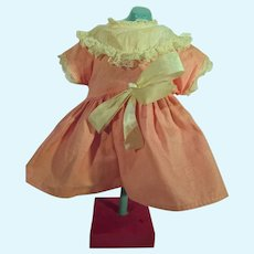 Cute, Pink Doll Day Dress, 1950's