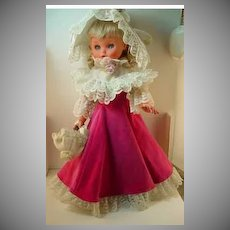 Beautiful 1960's Furga Doll, All Original!