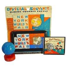 1964-1965 New York World's Fair Souvenir, Never used