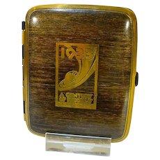 Rare 1933 Chicago World's Fair Cigarette Case...Mint Condition