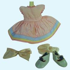 Vogue Strung Ginny Outfit, Connie #25, Kindergarten Series, 1952