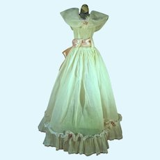 Vintage Doll Summer Gown, 1950's