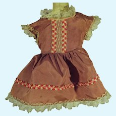 Vintage Taffeta Doll Party Dress, 1950's