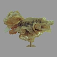 Antique French Fashion Doll Hat
