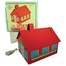 MIB 1976 Little Red Schoolhouse Bank