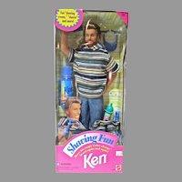 NRFB Mattel Shaving Fun Ken, 1994