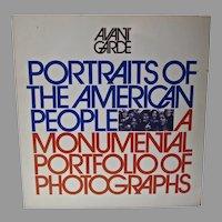 Avant Garde Magazine, 1971,Portraits of The American People,Alwyn Scott Turner