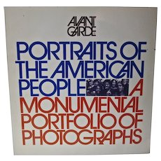 Avant Garde Magazine, 1971,Portraits of The American People,Alwyn Scott Turner