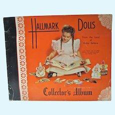 1948 Hallmark Dolls Collector's Album, Complete, Land of Make Believe
